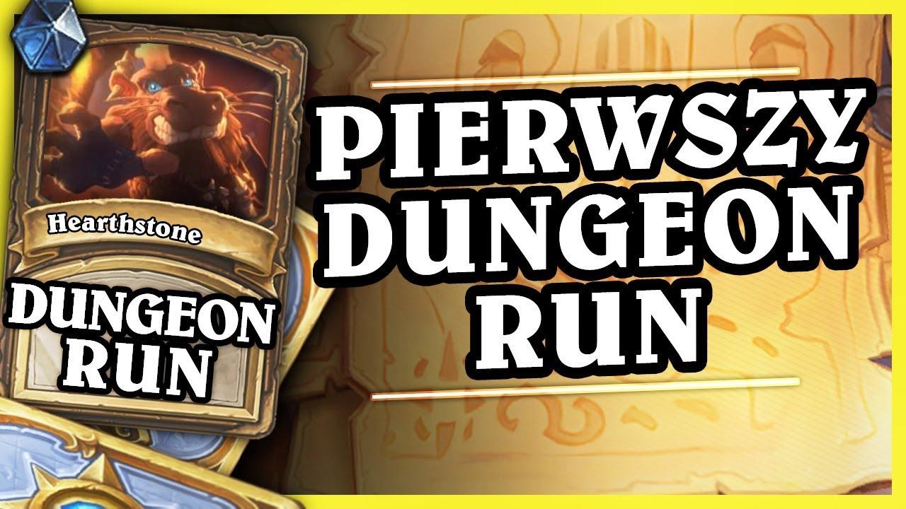 PIERWSZY DUNGEON RUN! – MAGE – Hearthstone Dungeon Run