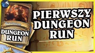 PIERWSZY DUNGEON RUN! - MAGE - Hearthstone Dungeon Run