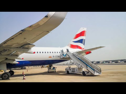 British Airways A320 NEO Flight Report | Lisbon Portela - London Heathrow Economy Class Seat 22F