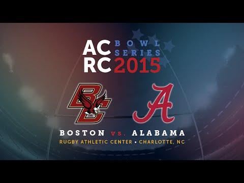 2015 ACRC Bowl Series: Boston College vs University of Alabama