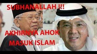 Heboh !!! Ahok Masuk Islam