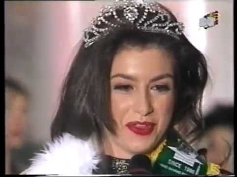 MISS WORLD UNIVERSITY 1996 - CORONACION