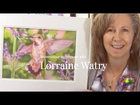 water-colour-painting-techniques-and-tutorial-with-lorraine-watry-|-colour-in-your-life