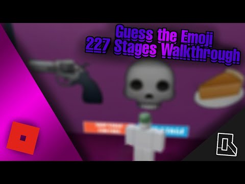 ★Guess The Emoji★ 227 Stages Walkthrough