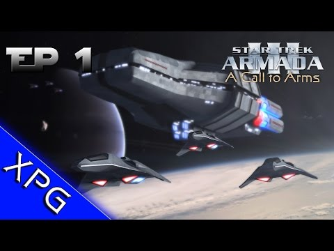 Lets Play...Star Trek Armada 3: A Call to Arms - Romulan Front Ep.1