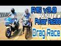 R15 V3 vs Pulsar Rs 200 Drag race | Top End | Highway Battle
