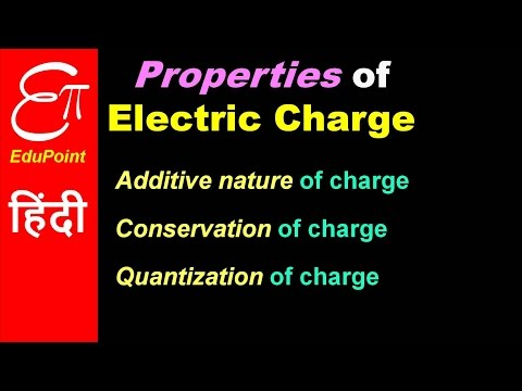 Properties of Electric Charge | video in HINDI