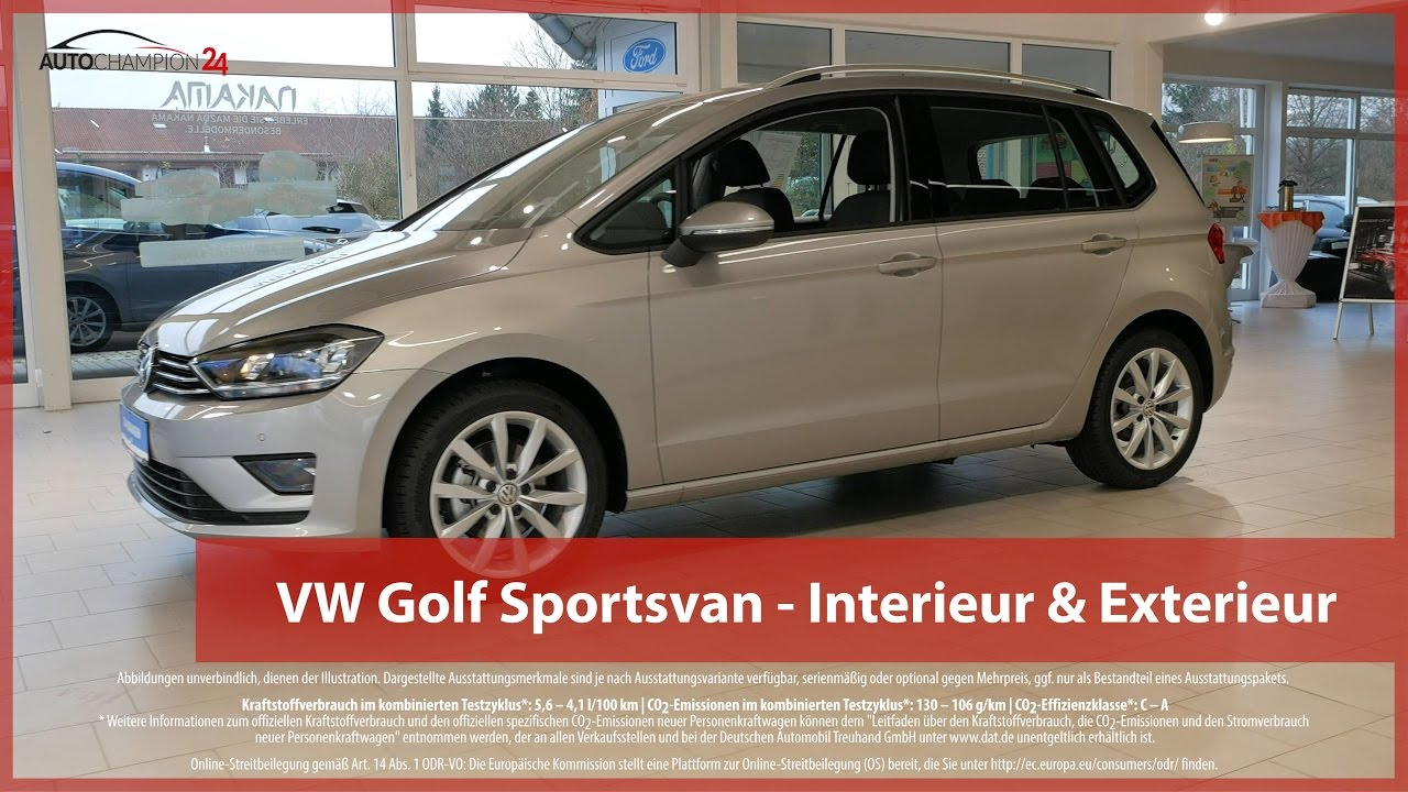Vw golf sportsvan reimport eu neuwagen interieur for Golf repentigny interieur