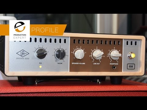 Gear Profile - Universal Audio - OX - The Amp Top Box