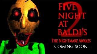 NIGHTMARE BALDI Five Nights at Baldi s Basics 2 in Education and Learning
