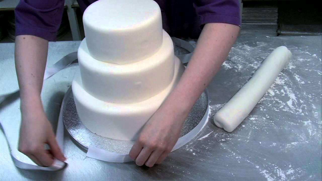 Beautiful Easy To Make Wedding Cake Youtube