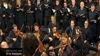 Requiem - Otto von Habsburg - Agnus Dei und Communio (Michael Haydn)