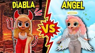 ANGEL 😇 CONTRA DIABLA 😈 LOL OMG    JUGUETES FANTASTICOS