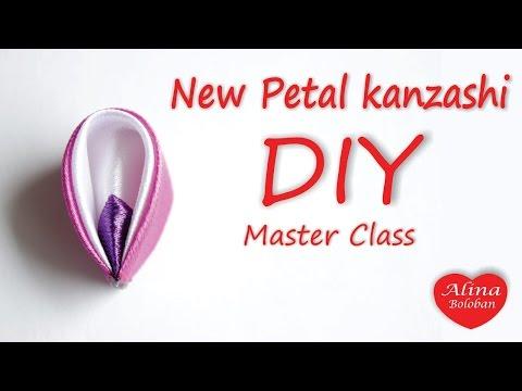 Канзаши мастер класс для начинающих (фото и видео)