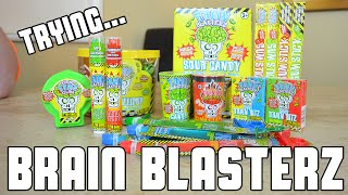 Trying Brain Blasterz Products | Fan Package | WheresMyChallenge