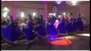 Beautiful Afghan girls dance