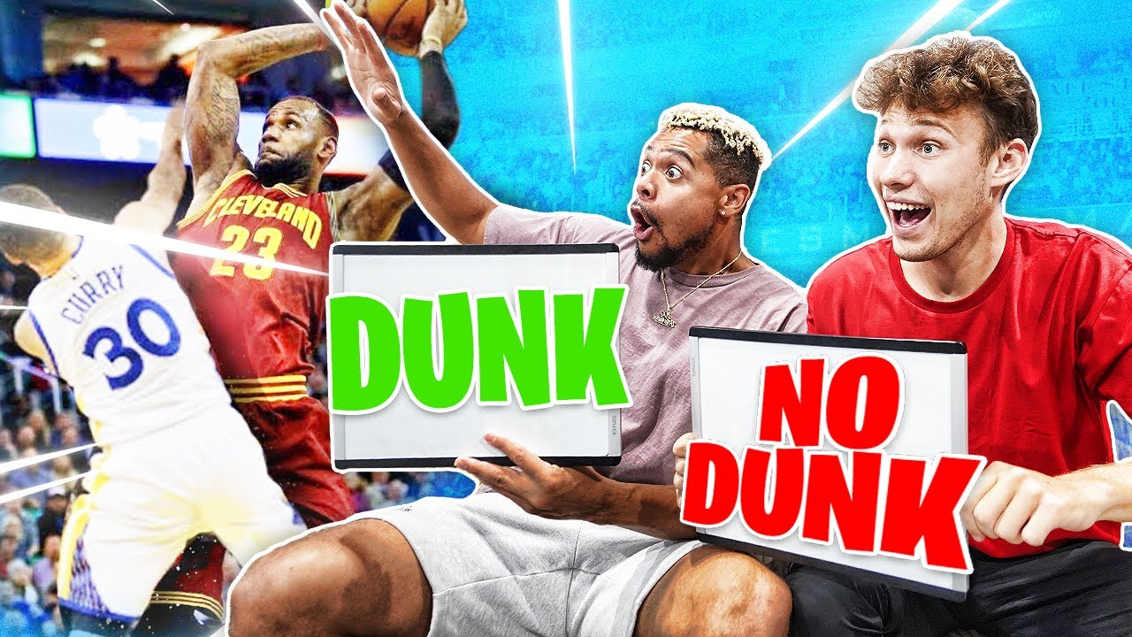 Can You Guess if it's a DUNK or NO DUNK?