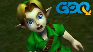 The Legend of Zelda: Ocarina of Time 3D MST by gymnast86 in 2:16:36 - GDQx2018