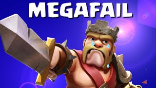 Clash of Clans - Epic Failure Attacking - Brutal Noob Mistake!