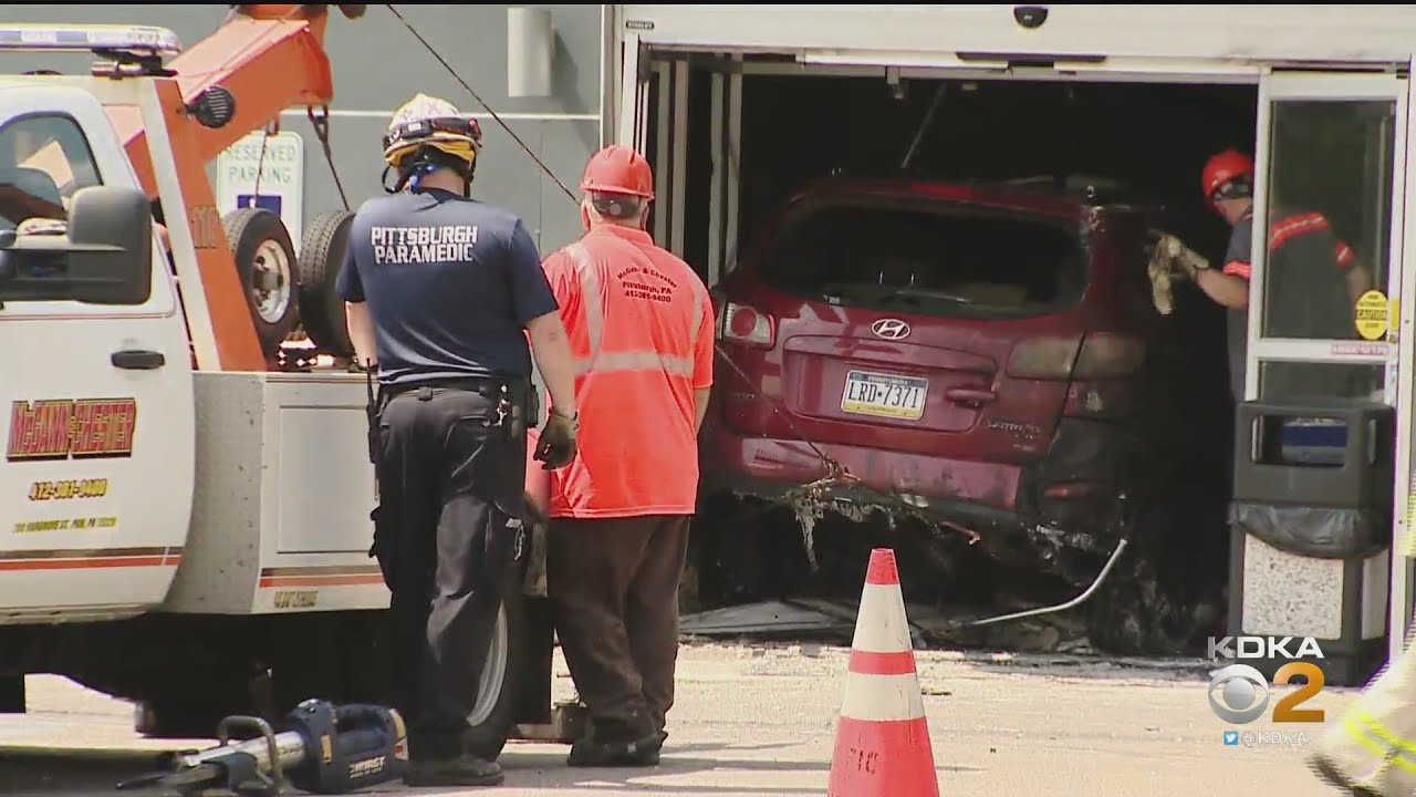 Witnesses Recall Moments When Car Slammed Into Building
