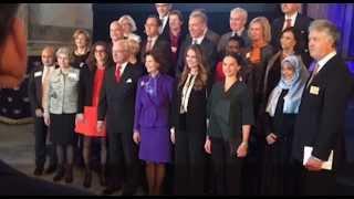Kronprinsessan Victoria stoppades från Global Child Forum av säkerhetsskäl