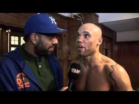 SIMON VALLILY WINS PROFESSIONAL DEBUT AGAINST SIMEON COVER / POST-FIGHT INTERVIEW FOR iFILM LONDON