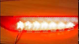 Катафоты LED - двух режимные
