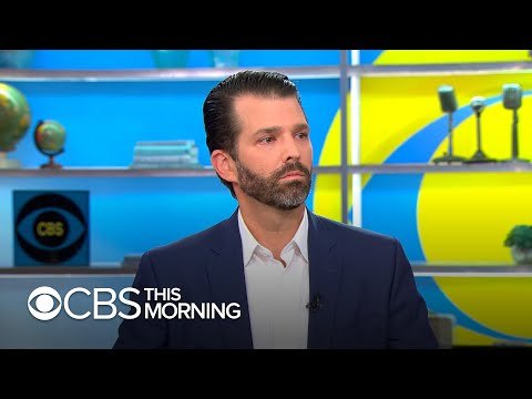 Donald Trump Jr. talks new book, says 'there are very few people' his dad can 'fully trust'