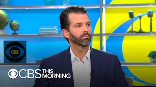 "Donald Trump Jr. talks new book, says ""there are very few people"" his dad can ""fully trust"""