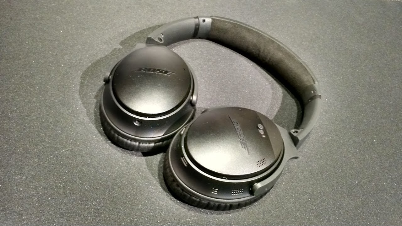 Z Review - Bose QuietComfort 35 - YouTube c375f87ee0ce
