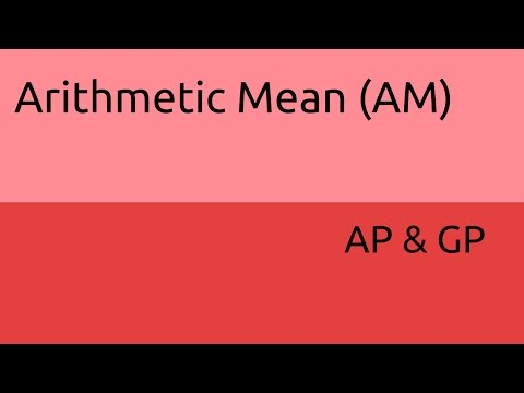 What is Arithmetic Mean | AP | GP | CA CPT | CS & CMA Foundation | Class 11 | Class 12