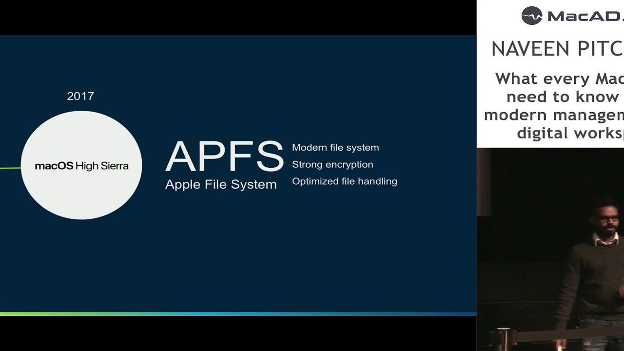 Naveen Pitchandi - What All Mac Admins Need to Know About Modern Management  & the Digital Workspace