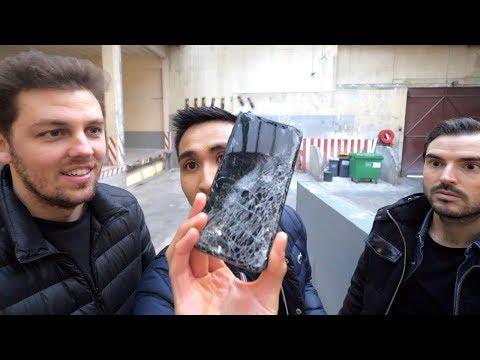 On a catapulté l'iPhone X