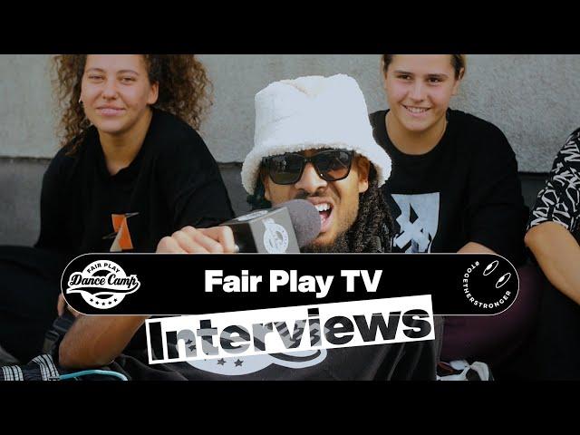 Fair Play Dance Camp 2021 | Interviews by Kenzo Alvares [FAIR PLAY TV]