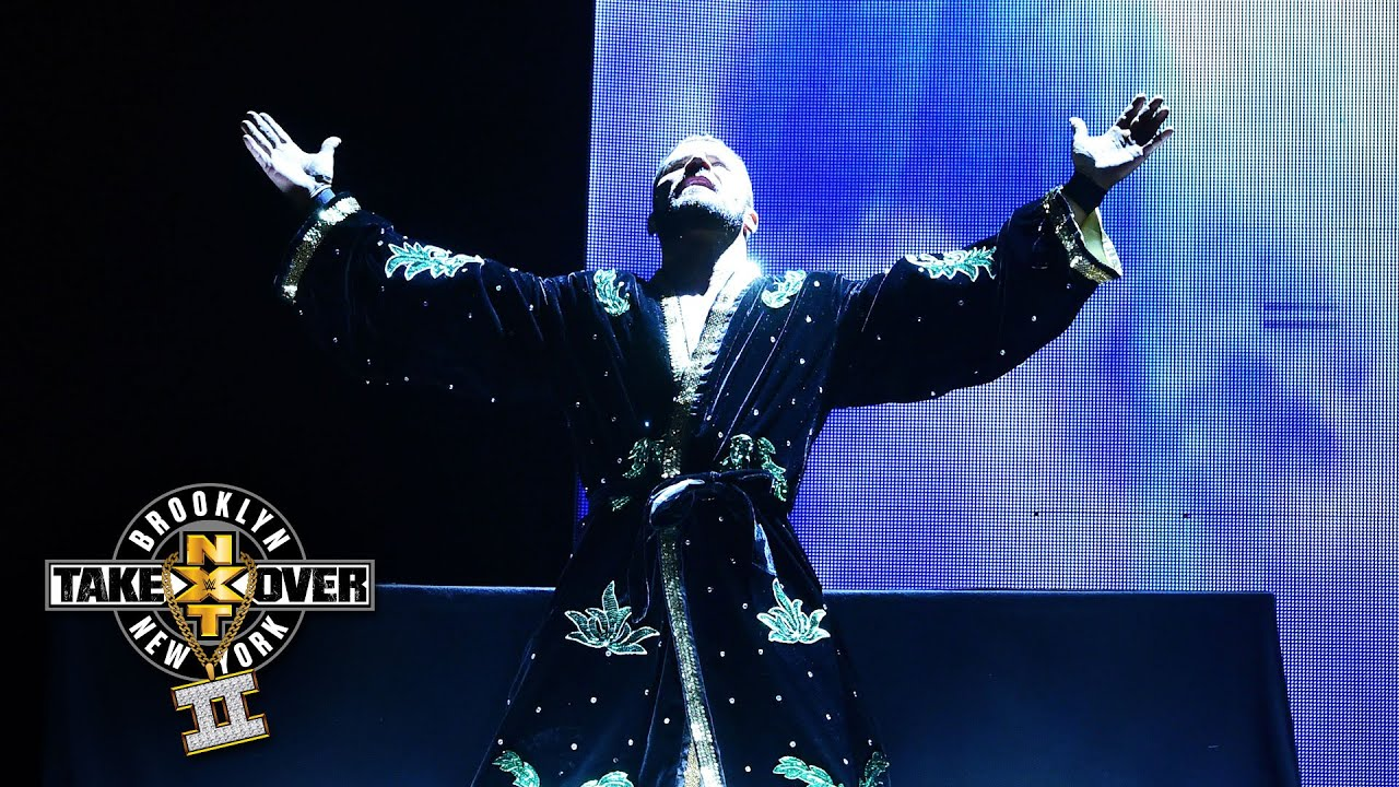 Bobby Roodes Glorious Entrance NXT TakeOver Brooklyn II Only On WWE Network