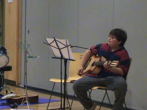 Premiere Guitar and Vocal Performance at the Wolf School May 2009