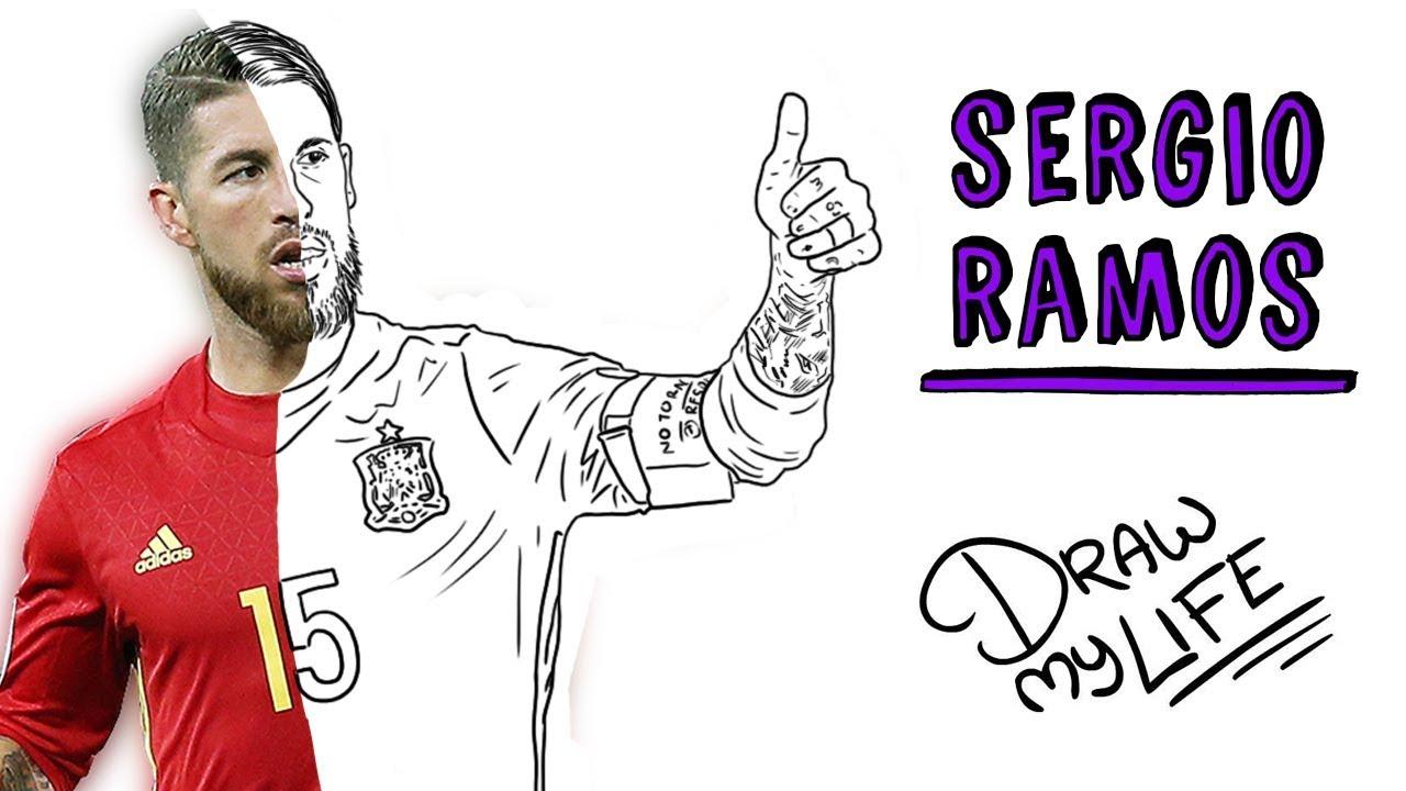 SERGIO RAMOS | Draw My Life