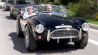 Shelby AC Cobra - LOUD Start up & Engine Sounds!