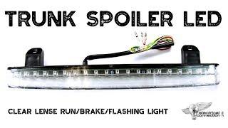 GL1800 Turn Signal Trunk Spoiler LED   Honda Goldwing Parts and Accessories   WingStuff.com
