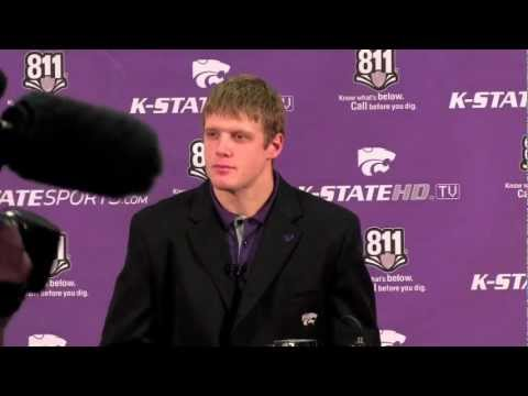 2012 Kansas State vs. West Virginia Pre-game: Collin Klein Press Conference