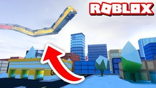 FLYING TRAIN GLITCH!! | Roblox Jailbreak
