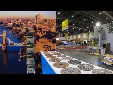 Ronacrete Ecobuild Custom Build Stand 2018