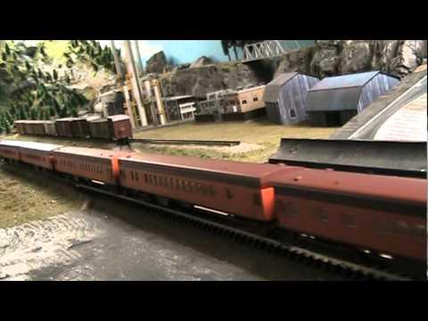 N scale Hiawatha steam & diesel
