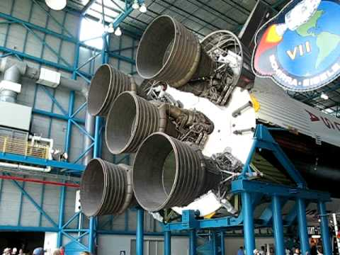 Saturn V Rocket at Kennedy Space Center - YouTube