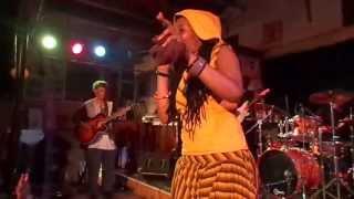 nkulee dube daughter of lucky dube performing live at ashkenaz berkeley ca july 19 2013 9