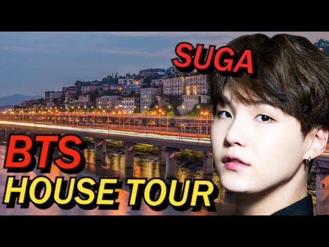"""BTS SUGA House Tour """"UN Village Hannam River Hill"""""""