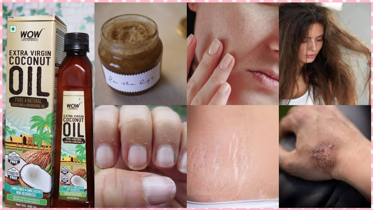 10 Skincare Hacks Using Coconut Oil !! Wow Life Science Extra Virgin Coconut Oil !! Quirkwithkomal
