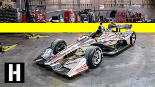 12,000RPM Twin Turbo IndyCar: Behind the Dallara's Carbon Bodywork