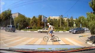 №24 Пешеходы-нарушители не хотят жить? / Idiots!