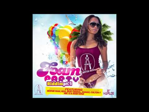 FOAM PARTY RIDDIM (JAMAICA and GHANA) -  DJ CIMAO